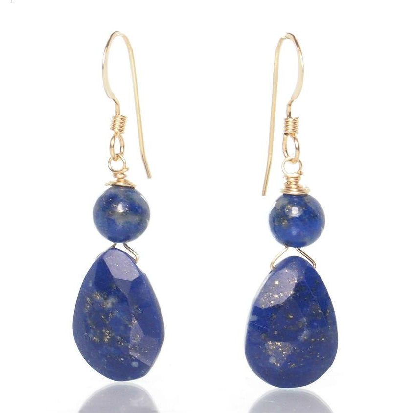 lapis product earrings lazuli diamond shape square