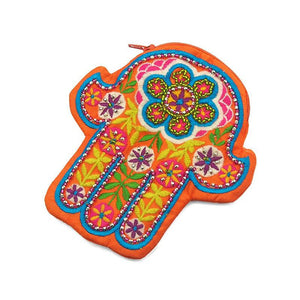 Embroidered Hamsa Coin Purse 4