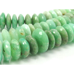 Chrysoprase German Cut Discs Strand