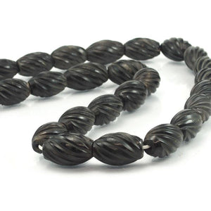Philippine Carved Cow Horn Beads