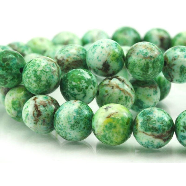 Chinese Chrysocolla Rounds 10mm
