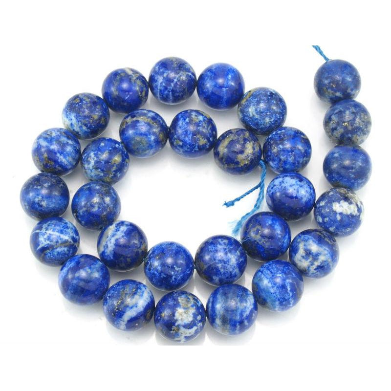 Lapis Lazuli Smooth Rounds 14mm Strand