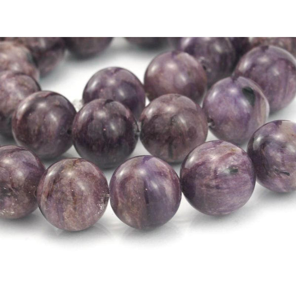 Sugilite Smooth Rounds 14mm