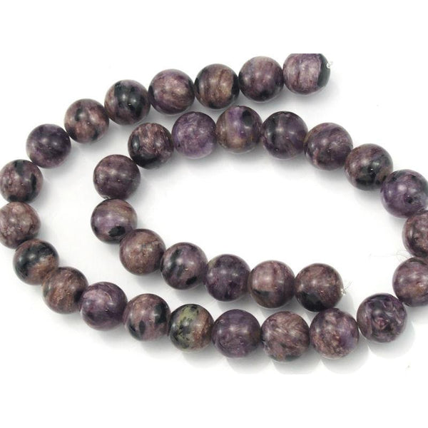 Sugilite Smooth Rounds 12mm