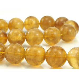 Yellow Fluorite Smooth Rounds 20mm