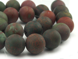 Bloodstone Matte Rounds 16mm