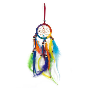 Rainbow Dreamcatcher Wall Hanging