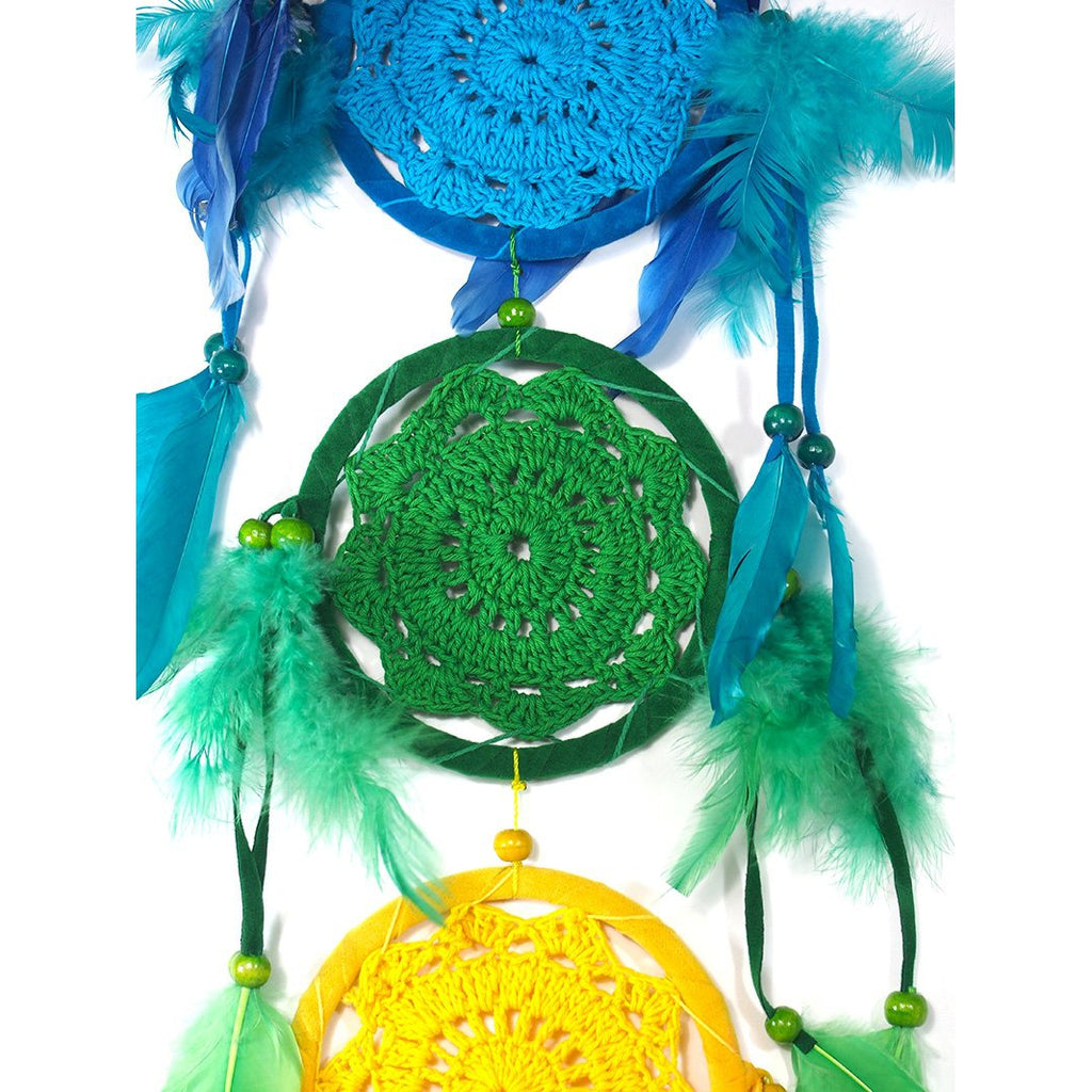 Dreamcatcher 4.5' Rainbow Wall Hanging