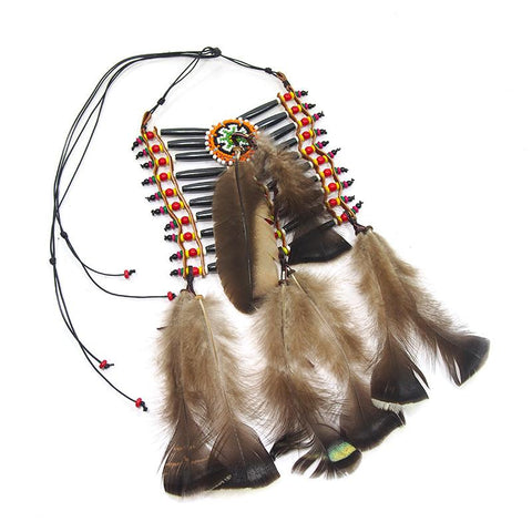 Feather/Bone Necklace