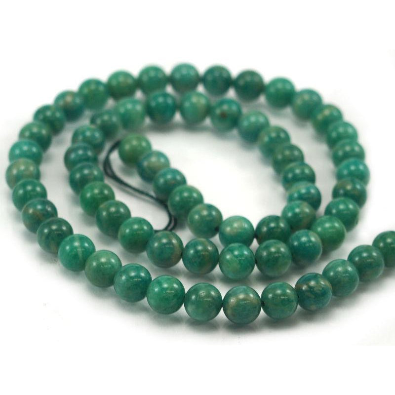 Amazonite Smooth Rounds 6mm