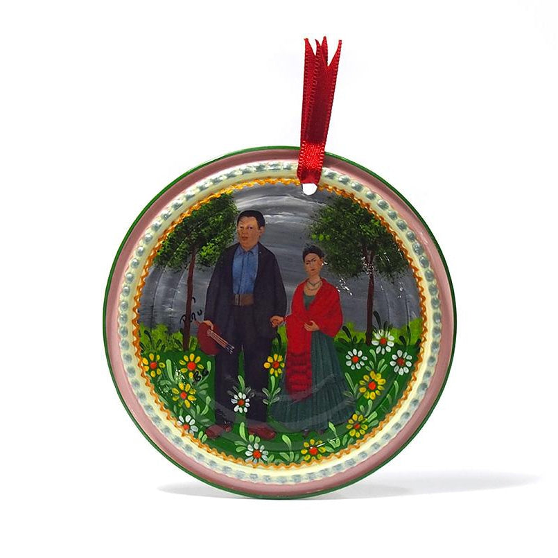 Frida Kahlo Can Ornament, A
