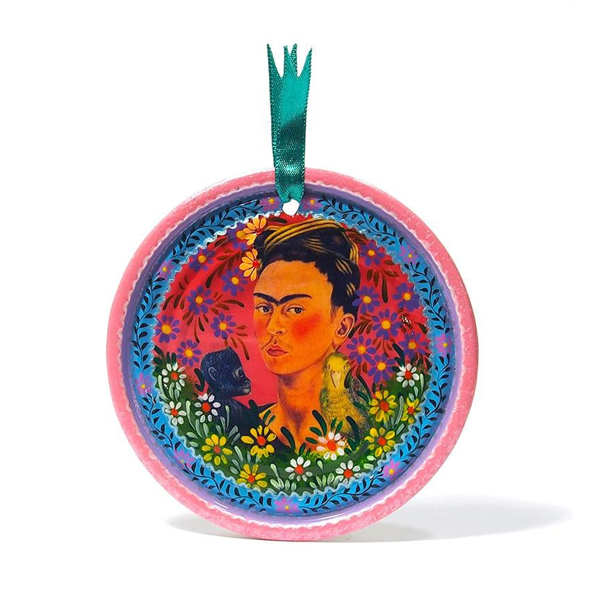 Frida Kahlo Can Ornament, B