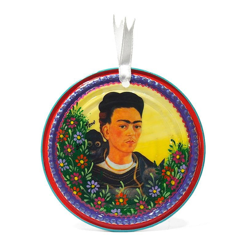 Frida Kahlo Can Ornament, C