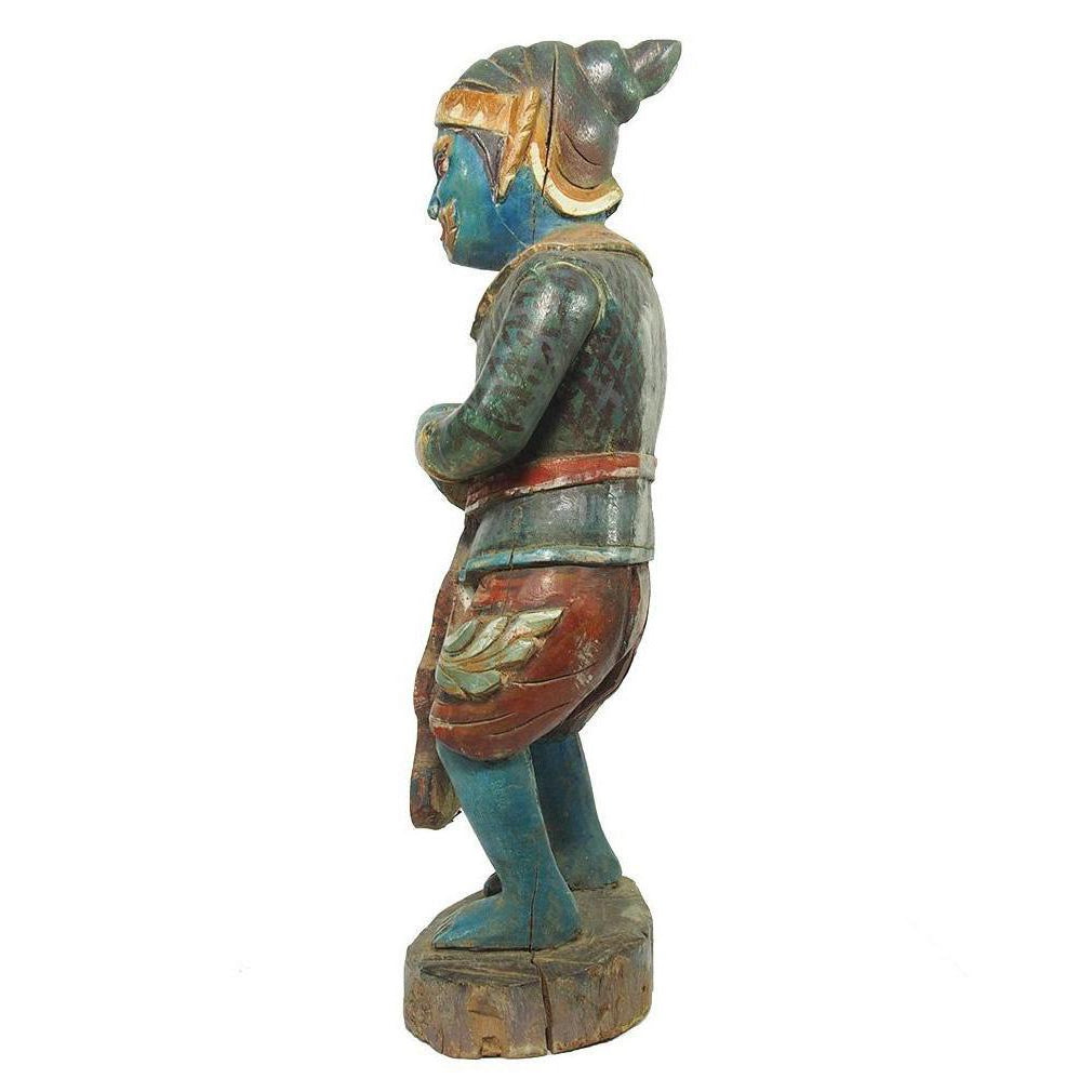 Yaksha Shrine Guardian Nature Spirit from Burma Ca.1950