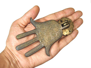 Brass Hamsa Door Knocker