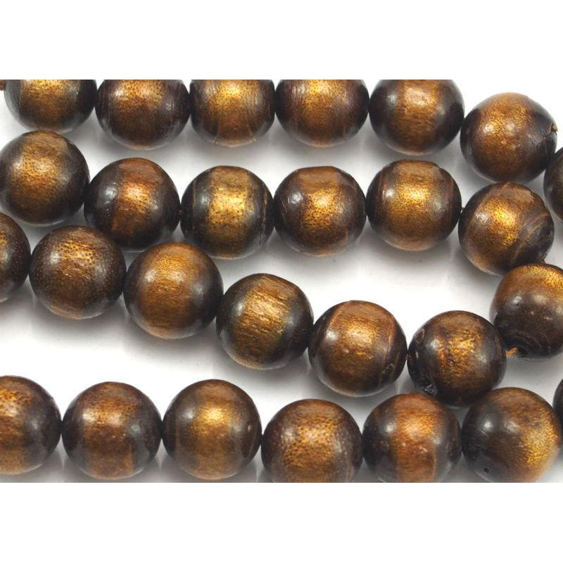 Golden Coral Rounds 12mm Strand