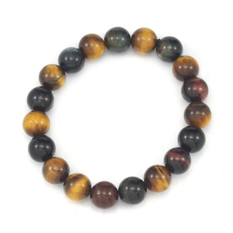Tiger's Eye 10mm Stretch Bracelet