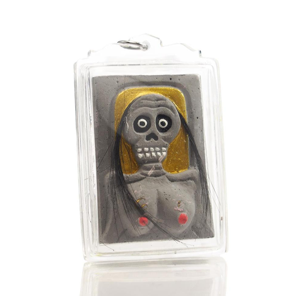 Mae Hong Prai Ghost Portrait / Spirit Amulet -03