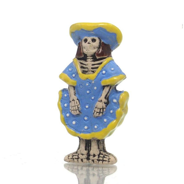 Catrina Skeleton Bead from Peru