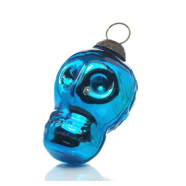 "3"" Skull Glass Ornament"