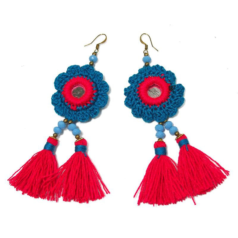 HIlltribe Earrings, A