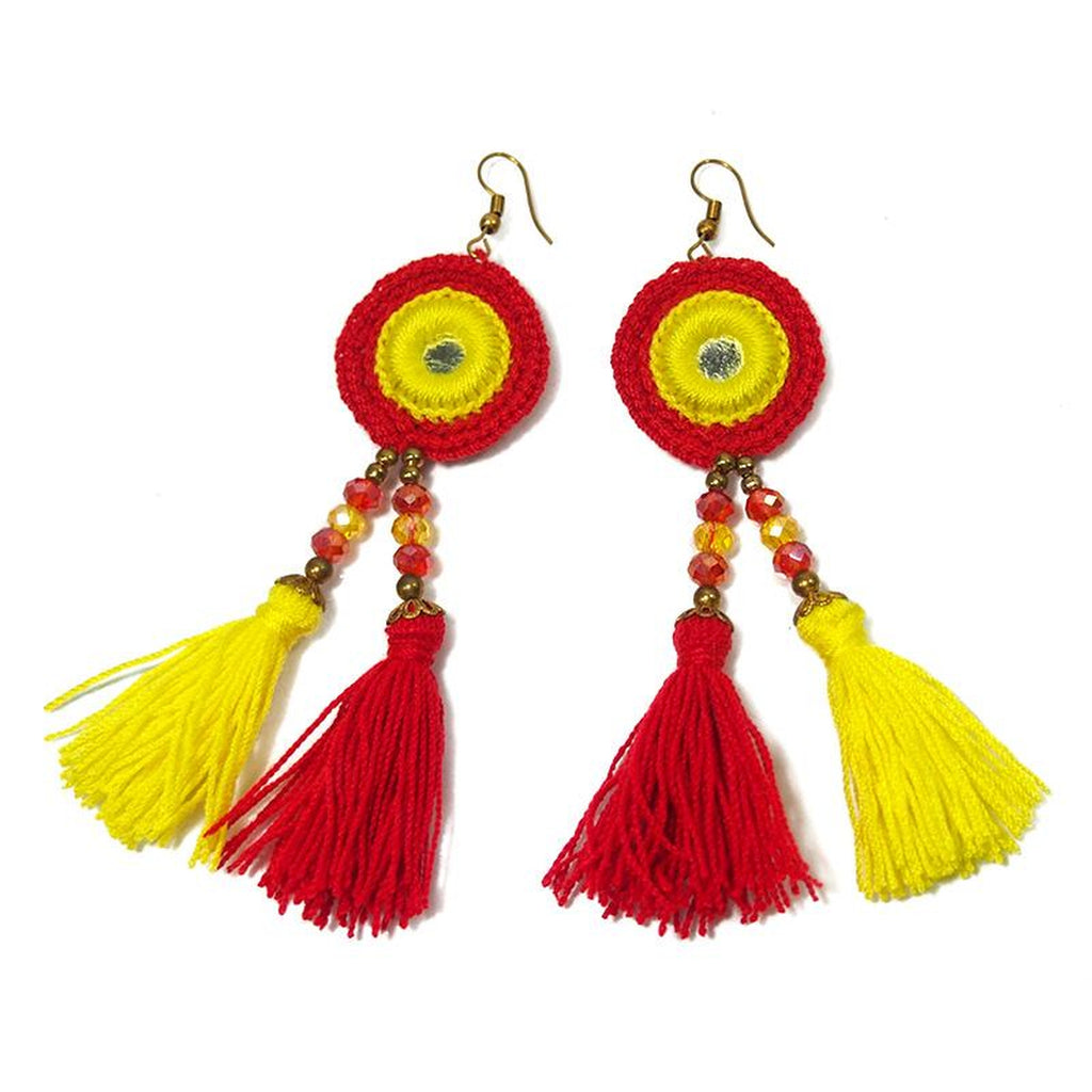 HIlltribe Earrings, C