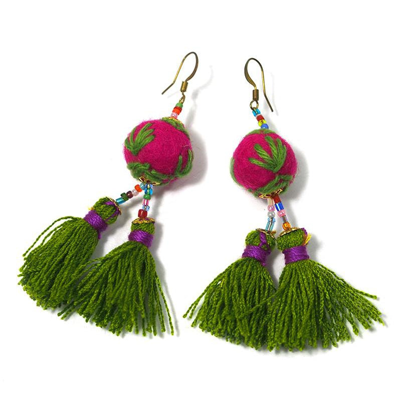 HIlltribe Earrings, G