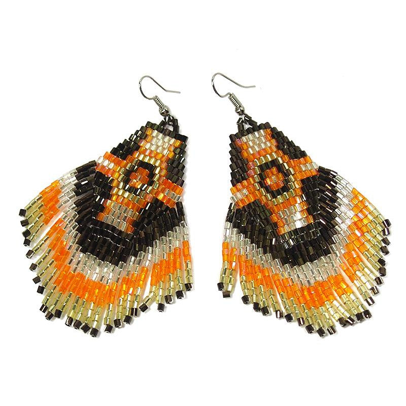 Seed Bead Fancy Earrings, A