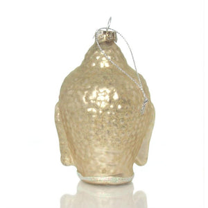 Buddha Jeweled Glass Ornament