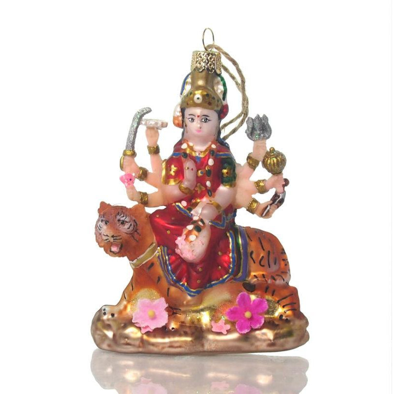 Durga Glass Ornament