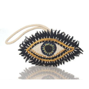 All Seeing Eye Fabric Ornament, B