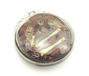 Honey Bee Gathering Wealth Thai Amulet -02