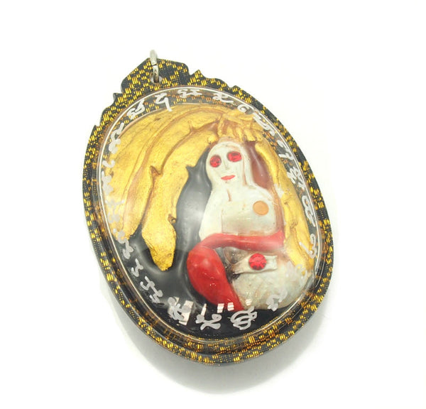 "Nang Thani ""Lady Of The Banana Tree"" Ghost / Spirit Amulet Phi Phrai -05"