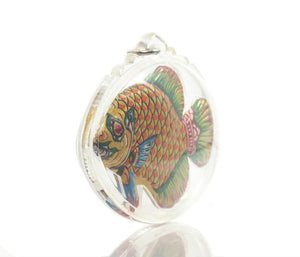 Pla Thapian The Wealth Fish Thai Amulet -20