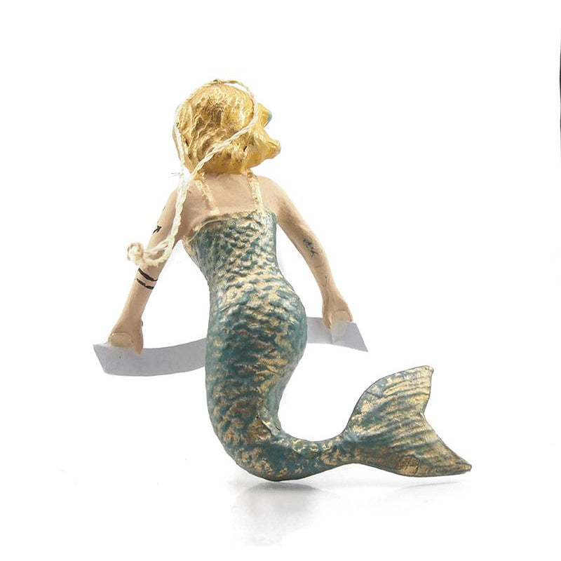 "Mermaid ""Wishing You a Magical Holiday"" Ornament, A"