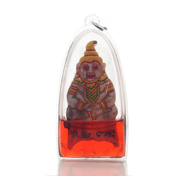 Phra Ngang Red Oil Thai Amulet -61