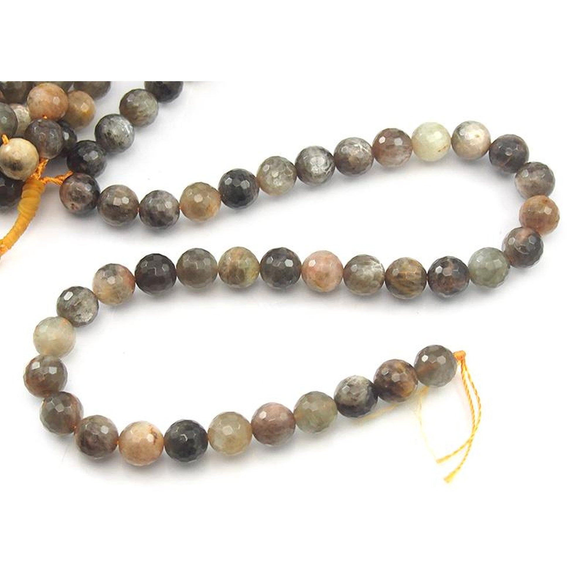 craft llc transparent beads beadtin orange gold sunburst