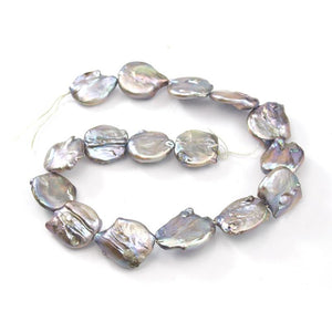 Fresh Water Pearl XL Coin Strand
