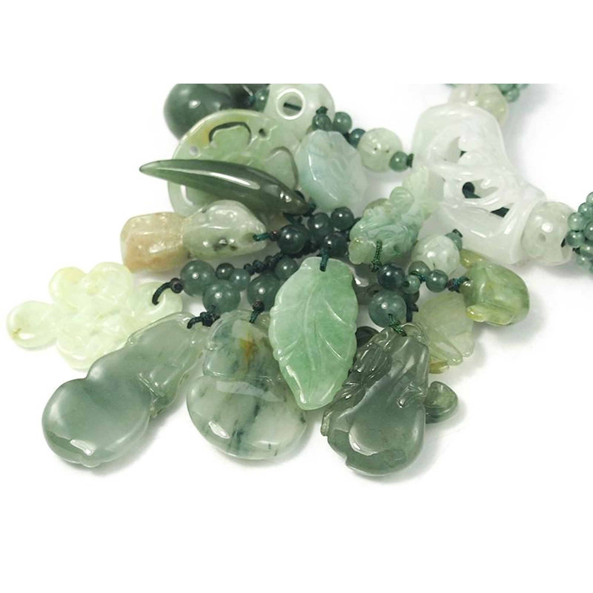 pendant jadeite jade white chinese beads item necklace supporting en an green apple a