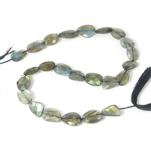 Labradorite Faceted Nugget Strand