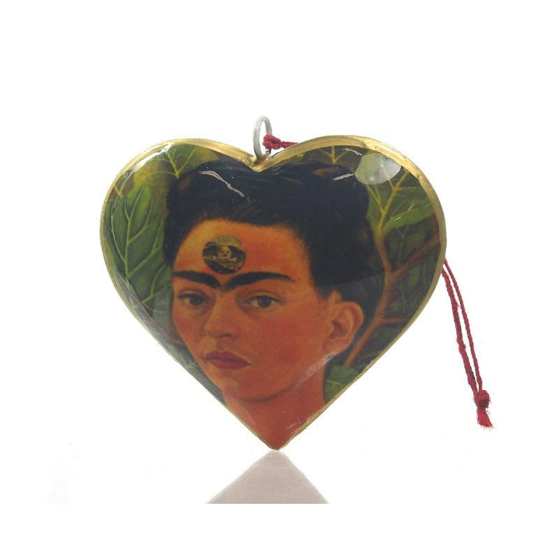 Frida Kahlo Metal Ornament
