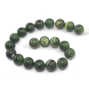 Opal Natural Green 20mm Rounds Strand