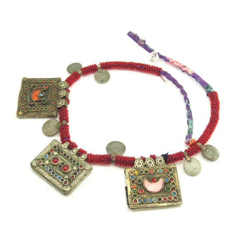Pashtun Vintage Necklace from Afghanistan 5