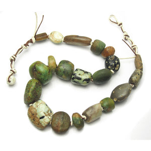 Excavated Amazonite Necklace