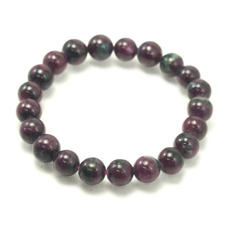 Ruby 9mm Stretch Bracelet 2