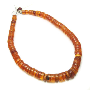 "Brotherly Love 14: Nepal ""Tengura"" Protective Necklace with Lithuanian Extra Large Amber Wheel/ Slice Necklaces and Natural Baltic Amber Sliced Nugget Trade Necklace and Antique Tiv Wooden Snuff Box Persian Trade Amber Necklace"