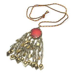 Afghan jewelry kuchi turkmen jewellery necklaces earrings kuchi pendant aloadofball Gallery