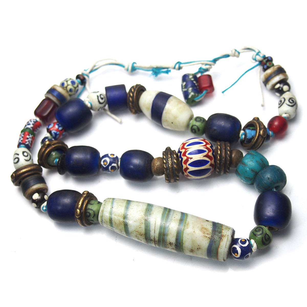 18th-19th Century Indian Naga Heirloom Trade Beads