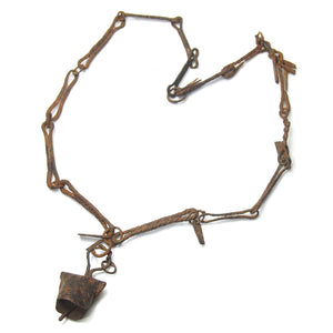 "Dogon Blacksmith/ ""Hogon"" Antique Status Emblem Iron Necklaces C and D"