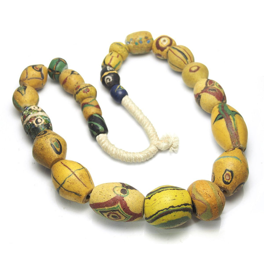 Rare Heirloom Bodom/ Akoso 18th-19th Century Masterwork Heirloom Beads from Ghana